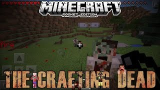 getlinkyoutube.com-Minecraft PE Crafting Dead - The Safe House! - Ep.2