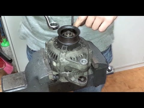 HDHow to fully rebuild a Toyota (Denso) Alternator with new bearings