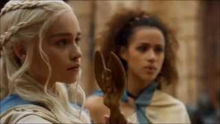getlinkyoutube.com-Don't mess with Daenerys Stormborn of Targaryen. Speaking Valyrian. Season 3, episode 4.