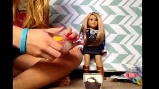 getlinkyoutube.com-Dollar store finds for your AG dolls!!