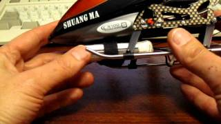 getlinkyoutube.com-Double Horse 9100 and 9116 helicopter battery upgrade