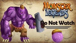 getlinkyoutube.com-Monster Legends - Worker Hulk Combat Fight [Golden Edition]