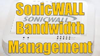 getlinkyoutube.com-Dell SonicWALL Bandwidth Management