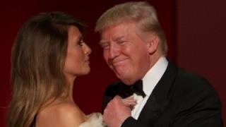 Trumps Dance to 'My Way' at Inaugural Ball