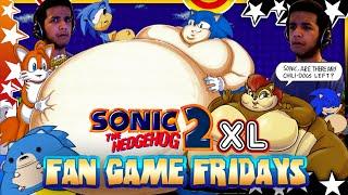 getlinkyoutube.com-Fan Game Fridays: Sonic 2 XL w/Facecam!
