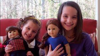 getlinkyoutube.com-Bratayley Gets American Girl Dolls Molly and Saige (WK 117.2)