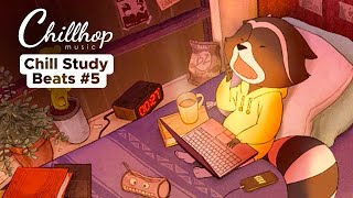 Chill Study Beats 5 • jazz & lofi hiphop Mix [2018]