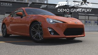 Forza Motorsport 6 Demo (60 FPS) - Toyota GT86 @ Yas Marina Night Race Gameplay