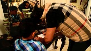 النجم محمد السالم يغني مع الطفل دانيل بتو