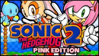 getlinkyoutube.com-Sonic the Hedgehog 2: Pink Edition (Amy and Cream) - Hack Showcase!