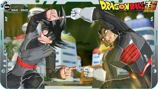 Fusion Black Goku and Black Vegeta: Black Gogeta SSJ White VS Fusion Beerus and Whis