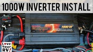getlinkyoutube.com-My 1000 Watt Inverter Installation Explained