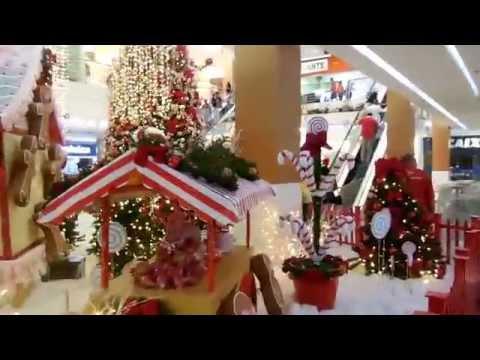 Ornamentação do Shopping Manaíra por Cleide Roque