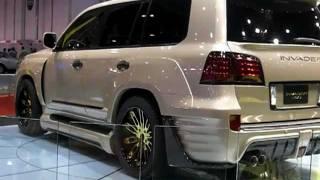 getlinkyoutube.com-INVADER L60's - Lexus turned Monsters in Abu Dhabi!