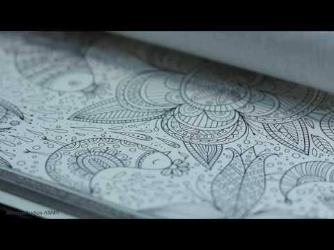 ASMR - Colouring Notebook (Whispered)