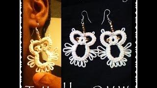 getlinkyoutube.com-IT'S TIME TO TAT! (Tatted Owls Earrings)