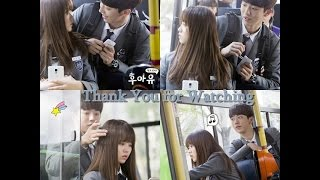 Han Yi An & Lee Eun Bi Momment Part 2 (Who Are You School 2015) ♥♥♥
