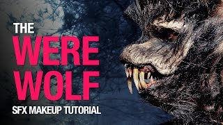 getlinkyoutube.com-Werewolf halloween makeup tutorial