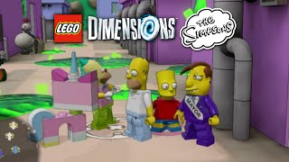 getlinkyoutube.com-LEGO Dimensions Simpsons World gameplay with ALL Simpsons characters!