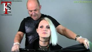 getlinkyoutube.com-My first step to go short hair? Special Asyetric hairstyle of Marlijn by T.K.S.