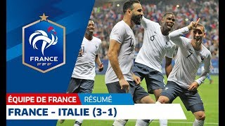 Équipe de France, France-Italie (3-1), le résumé I FFF 2018 width=
