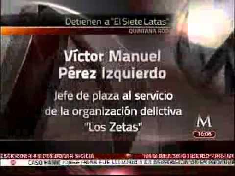 Policía Federal captura a  El Siete Latas