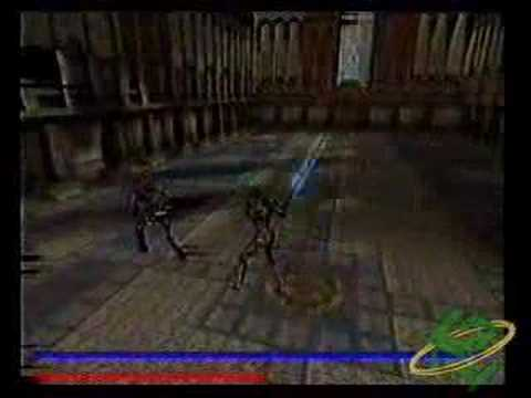 Raven Blade GameCube Beta Unreleased In-Game