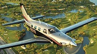 getlinkyoutube.com-Piper M500 Aircraft Demonstration Flight with Dick Rochfort