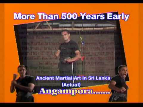 Sri lanka martial arts Angampora