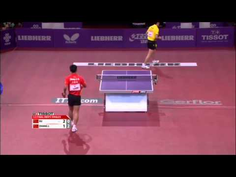 WTTC 2013 Highlights: Zhang Jike vs Xu Xin (1/2 Final)
