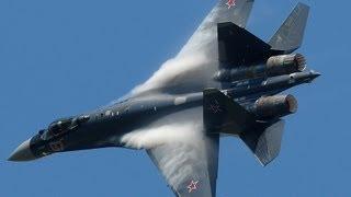 getlinkyoutube.com-Paris Air Show 2013 - Su-35 vertical take-off + Air Show (HD)