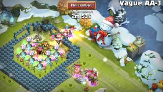 getlinkyoutube.com-Castle clash vague AA victory :-)