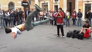 Hip Hop Music Dance - Street Artists Fly on Rap