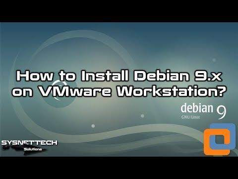 VMware Workstation Kullanarak Debian Kurulumu