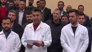 Midyat Gündem Com Sağlık çalışanlarına şiddete Midyat'tan tepki