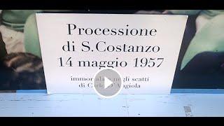 Capri: La Processione di San Costanzo del 1957 ( Mostra Fotografica Carlo D'angiola )