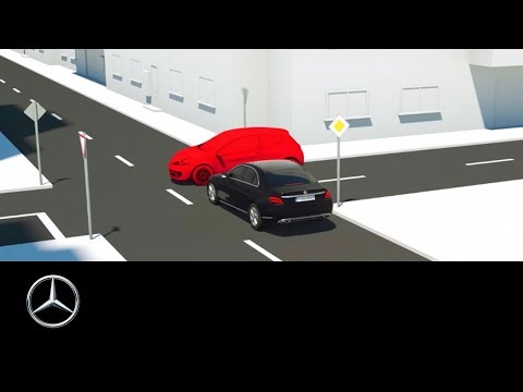 Mercedes-Benz Active Braking Assist: Driving Assistance Package