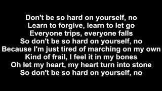 getlinkyoutube.com-Jess Glynne - Don't Be So Hard On Yourself Lyrics