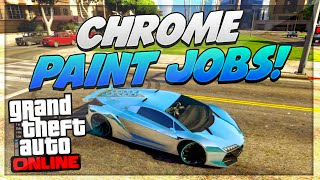 "getlinkyoutube.com-GTA 5 Paint Jobs: RARE Colored Chrome Paint Jobs (GTA 5 Chrome Paint Job Trick) ""GTA 5 Paint Jobs"""