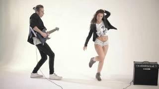 getlinkyoutube.com-Ahenu & Zhenya Volkova - IronSide [Official Video, Jump Jump 2016, Twerk & Guitar show]