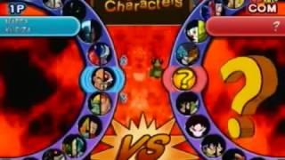 getlinkyoutube.com-Dragon Ball Budokai AF todos personagens ps2