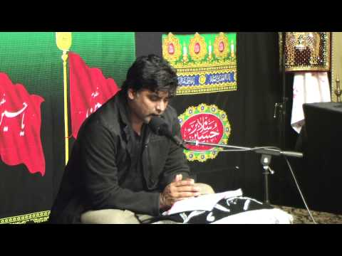 Dar e Abbas Houston 11th Muharram Tussadaq Hussain Part 2 11 15 2013