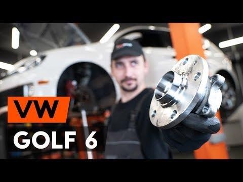 Как заменить передний подшипник ступицы VW GOLF 6 (5K1) (ВИДЕОУРОК AUTODOC)