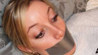getlinkyoutube.com-Girl Duct Taped To Bed