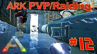 getlinkyoutube.com-[12] Explosive Raid On Animals' Base! (ARK Survival Evolved PVP Raiding)