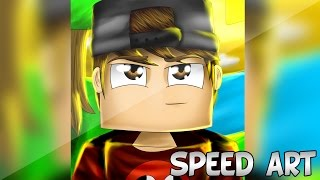 getlinkyoutube.com-Desenhando KennerBR | @KennerXD | Speed Art