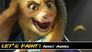 getlinkyoutube.com-Let's Paint: Adult Asriel Dreemurr (720p)
