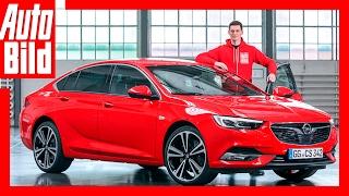 getlinkyoutube.com-Sitzprobe im neuen Opel Insignia Review / Details / Insignia 2 (2017)