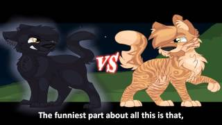 Breezepelt vs Lionblaze. Epic Rap Battles of Warriors #2