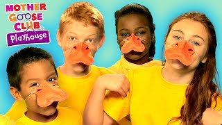 Five Little Ducks | Funny Animal Story | Mother Goose Club Playhouse Kids Video